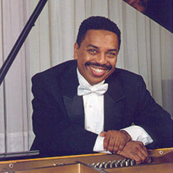 Pianist Richard Alston